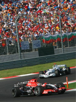 Christijan Albers and Nick Heidfeld