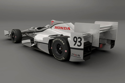 Honda short oval/road course aero kit