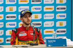 Post-race press conference: third place Daniel Abt