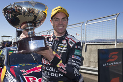 Winner Craig Lowndes, Triple Eight Race Engineering Holden