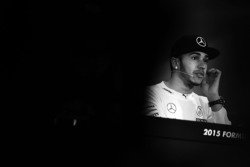 Lewis Hamilton Mercedes AMG F1 in the FIA Press Conference