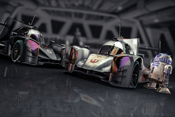 R2-D2 has a look at the ORECA X-Wing and DarkSide spec 05
