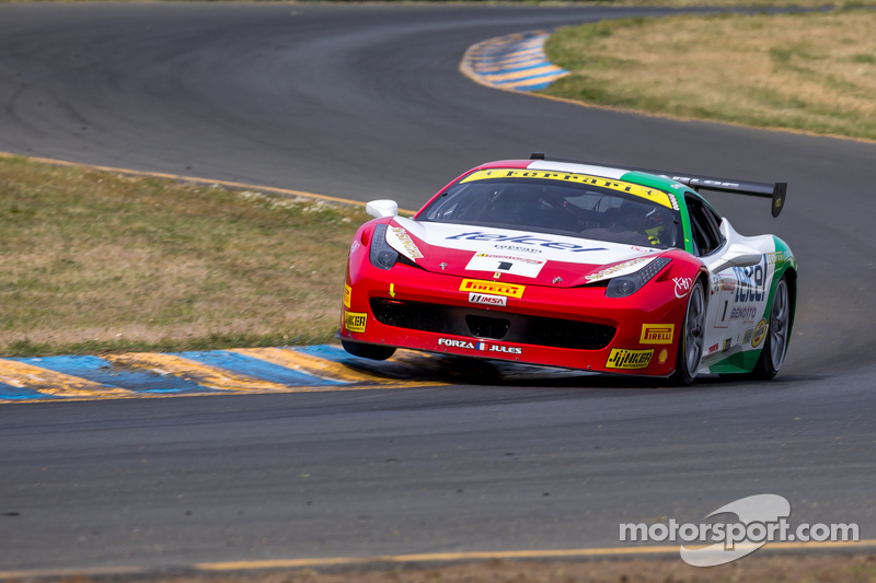 #1 Ferrari of Houston Ferrari 458: Ricardo Perez
