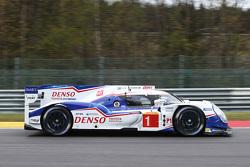 #1 Toyota Racing Toyota TS040 Hybrid: Anthony Davidson, Sebastien Buemi