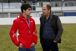 Lance Stroll with Gerhard Berger