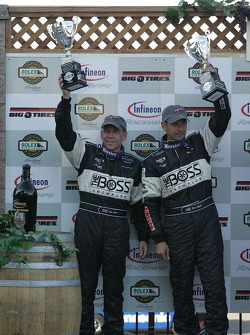 Podium: #4 Howard - Boss Motorsports Pontiac Crawford: Andy Wallace, Butch Leitzinger