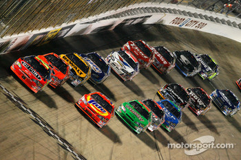 Jeff Gordon leads the field