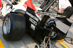 Honda Racing F1 RA106 rear car detail