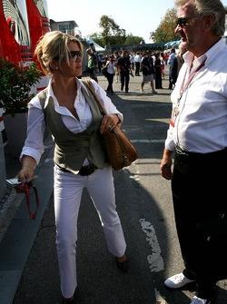 Corina Schumacher and Willi Weber