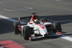 GP2 Series champion Lewis Hamilton