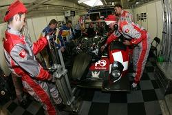Swiss Spirit team members at work