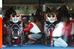 Honda LCR pitbox