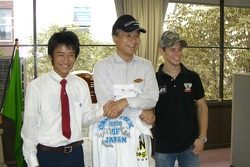 Casey Stoner visits a local school