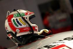 Helmet of Tom Kristensen