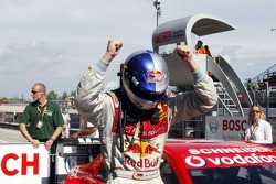 Race winner Martin Tomczyk celebrates