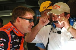 Jeff Burton with Richard Childress