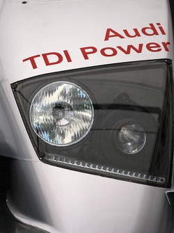 Detail of the Audi Sport North America Audi R10 TDI Power