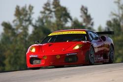 #61 Risi Competizione Ferrari 430 GT Berlinetta: Anthony Lazzaro, Maurizio Mediani, Marino Franchitti