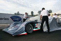 Fernandez Racing Lowe's Acura Lola LMP2 presentation: Adrian Fernandez and Luis Diaz unveil the Acura Lola LMP2