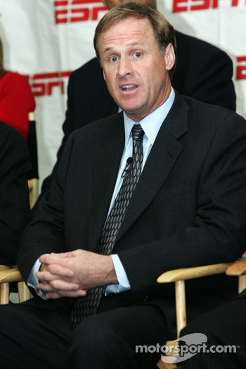 ESPN press conference: Rusty Wallace