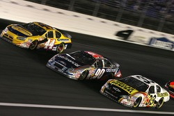 David Reutimann, Stephen Leicht and Kevin Harvick