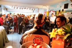 Lucky Strike PR day: Rubens Barrichello gives an interview