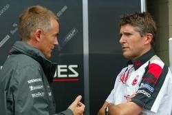 Martin Whitmarsh and Nick Fry