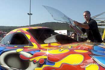 Putting in the windshield, its looking more like a ready-to-run Funny Car