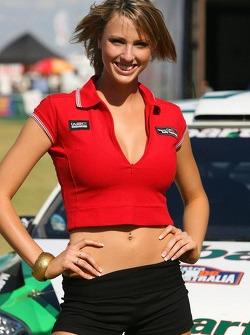 A lovely Rally Australia girl