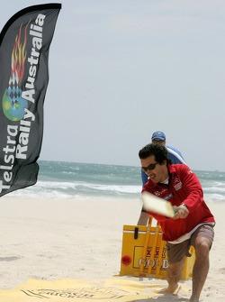 Marc Marti at the beach