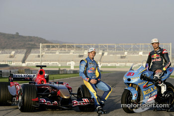 John Hopkins with an STR1 and Vitantonio Liuzzi
