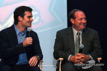 Jeff Gordon and Ken Schrader