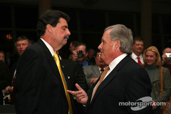 Mike Helton and Rick Hendrick