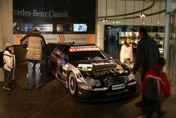 Inside the new Mercedes-Benz Museum at Stuttgart-Untertürkheim