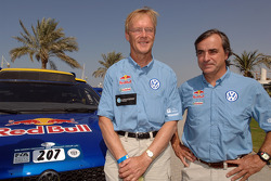 Ari Vatanen and Carlos Sainz