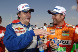 Carlos Sainz and Stéphane Peterhansel
