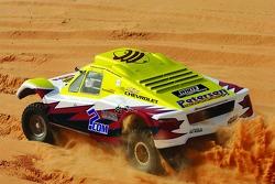 Petersen Motorsports/White Lightning Racing SMG-built T1.1 class buggy: Michael Petersen, Matthew Stevenson