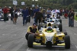 Starting grid: Jonathan Legris