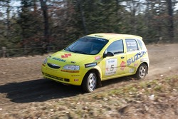 #5 2004 Suzuki Swift Plus: Frank Sprongl, Brian Maxwell