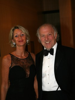 David Richards, CEO Prodrive and wife