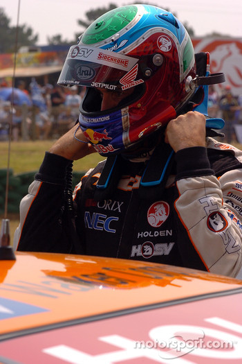 Rick Kelly ready for a grudge match with Craig Lowndes