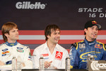 Marcus Gronholm, Sbastien Loeb and Travis Pastrana