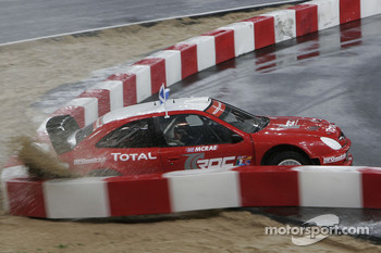 Semi final: Colin McRae in the wall