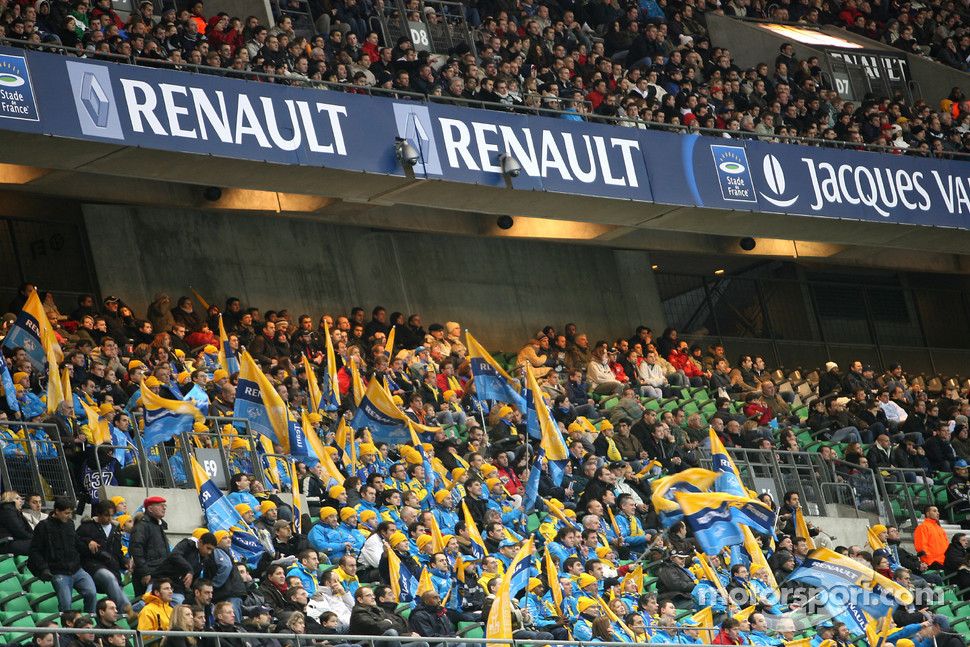 Fans at Stade de France