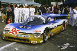 #95 Roland Bassaler Sauber SHS C6 BMW: Roland bassaler, Dominique Lacaud, Yvon Tapy