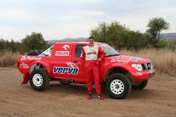 Orlen Team: Krzysztof Holowczyc with the Orlen Nissan