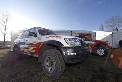 Orlen Team: the Orlen Nissan of Benoit Rousselot and Gilles Mondesir