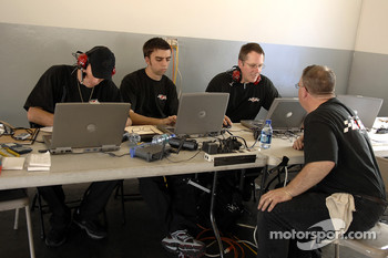 Robert Yates Racing engineers at work