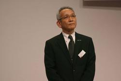 Tsutomu Tomita, Toyota Racing Chairman and Team Principal