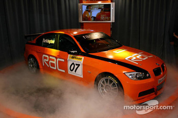 BTCC, Team RAC, BMW 320i, Car Presentationn